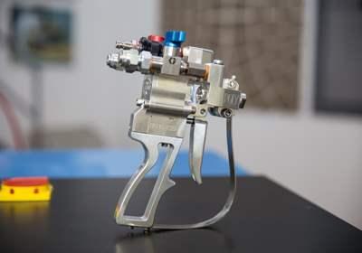 Macchine a spruzzo per poliuretano e poliurea
